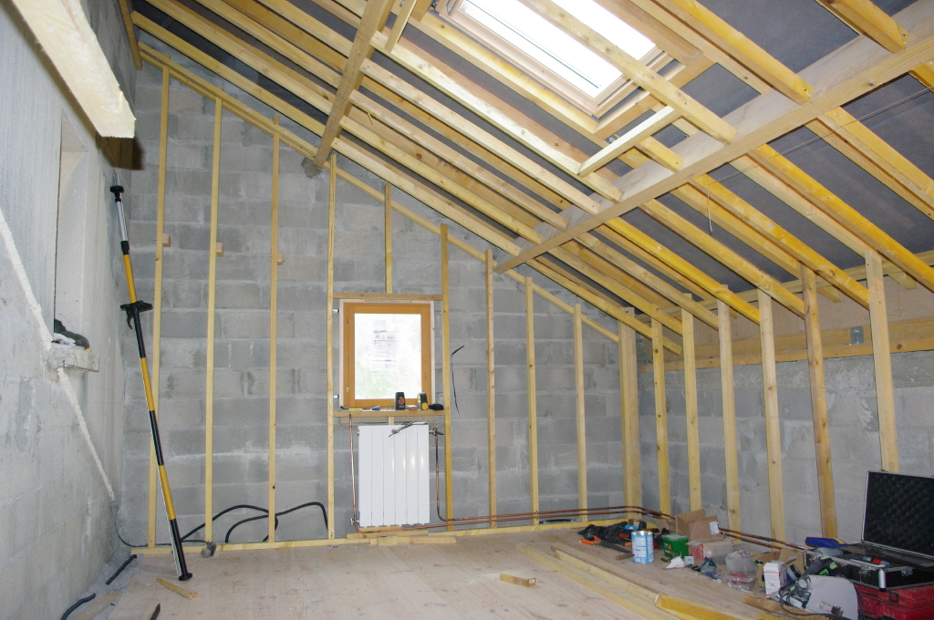 14- Montage de la structure bois