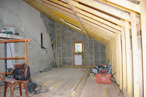 15- Montage de la structure bois