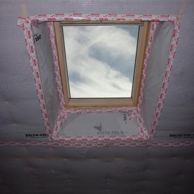 Isolation ouate de cellulose insufflée mur et rampants