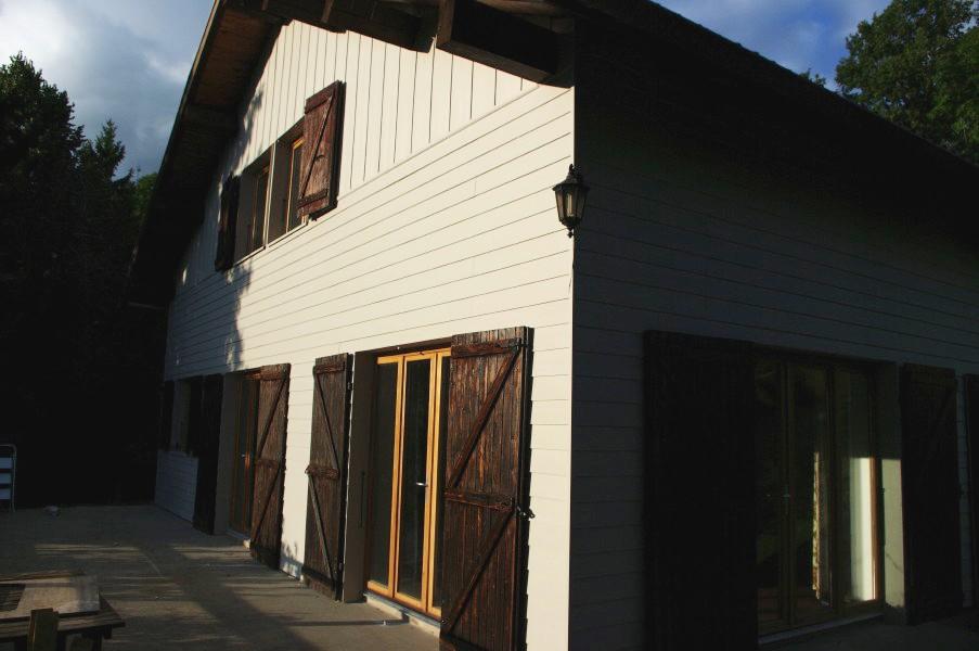 Isolation exterieure fibre de bois bardage menuiseries - Isolation exterieure bois bardage ...