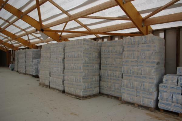 12 tonnes de ouate de cellulose seront necessaire