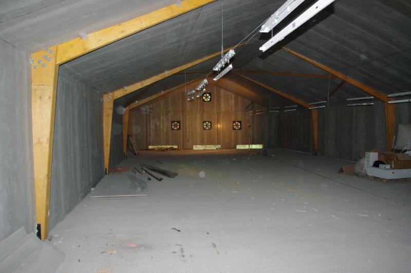 Vue intérieur du bâtiment fini