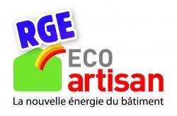 Logo eco artisan rge